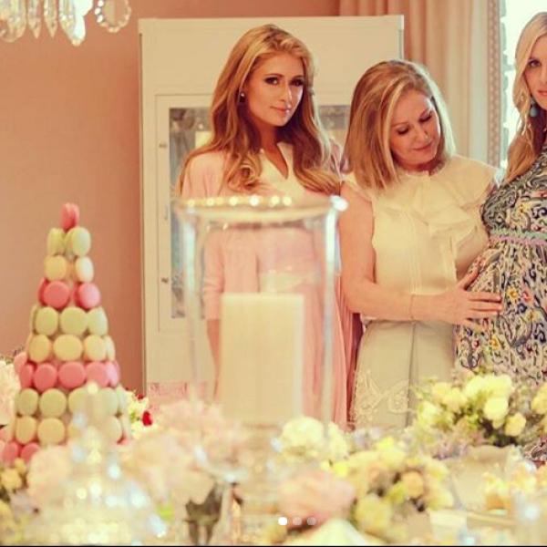 Paris Hilton le organizó un exclusivo baby shower a su hermana Nicky