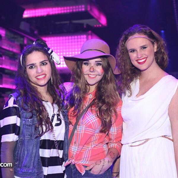 Ana Olea,Maca Suinaga y Mariana Barrios