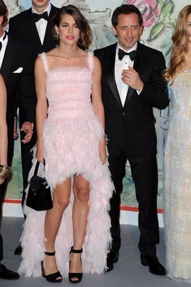 La hija de la princesa Carolina de Mónaco y su pareja, con quien tuvo a su hijo Raphaël, han terminado su relación de tres años.