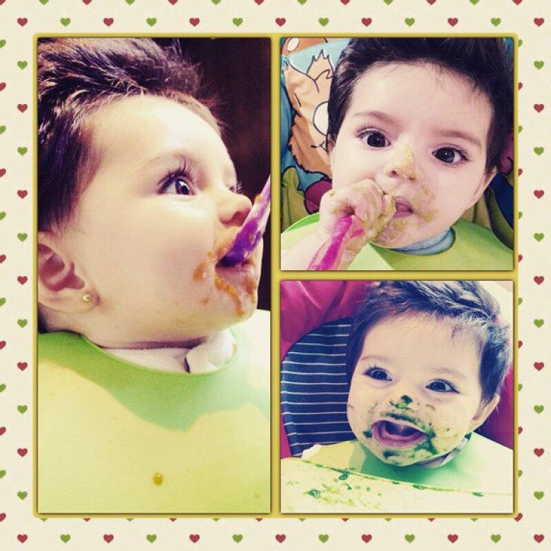 Aitana es una de los bebés más queridos en el showbiz.