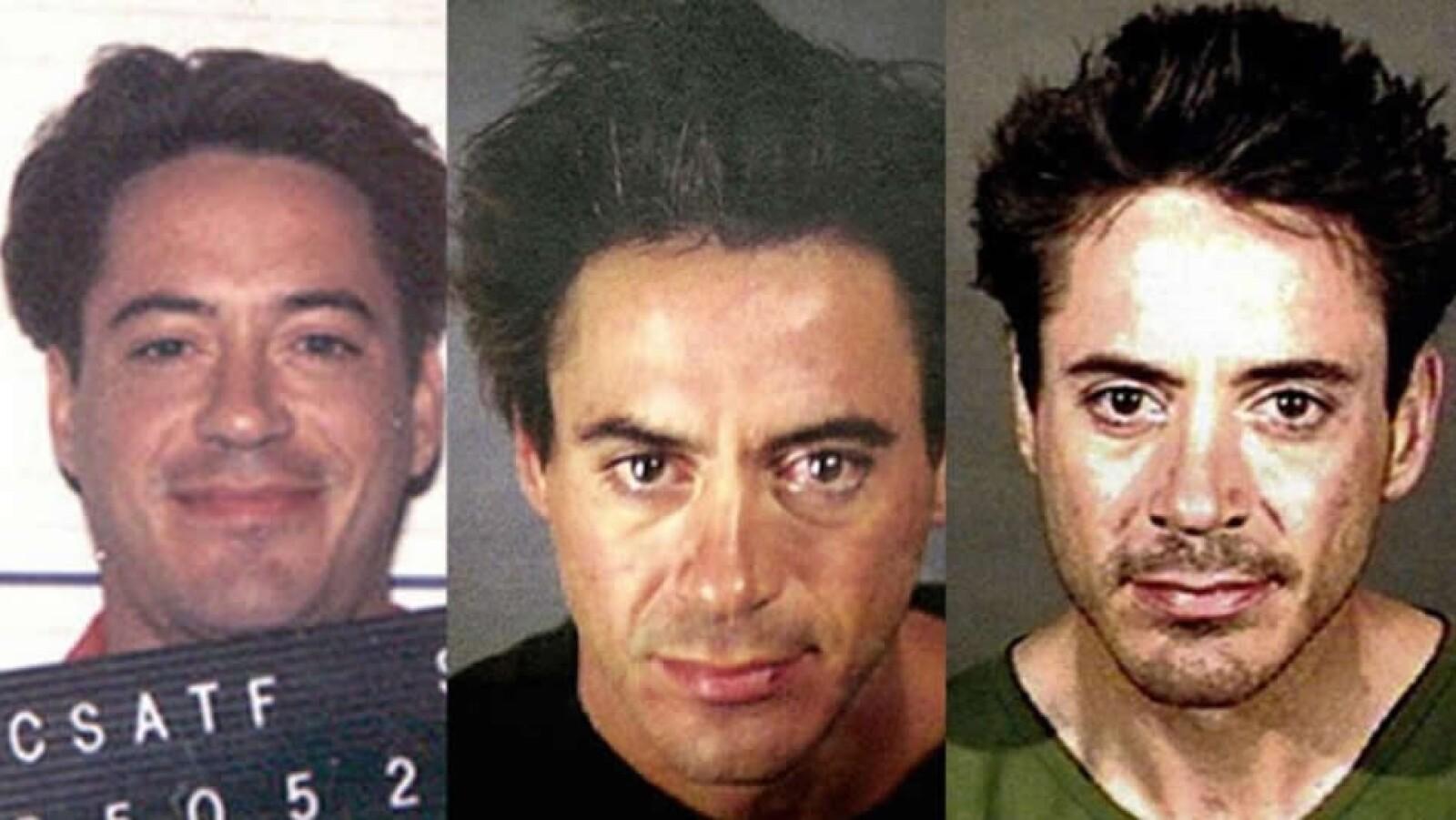 Los problemas de drogradicción de Robert Downey Jr.