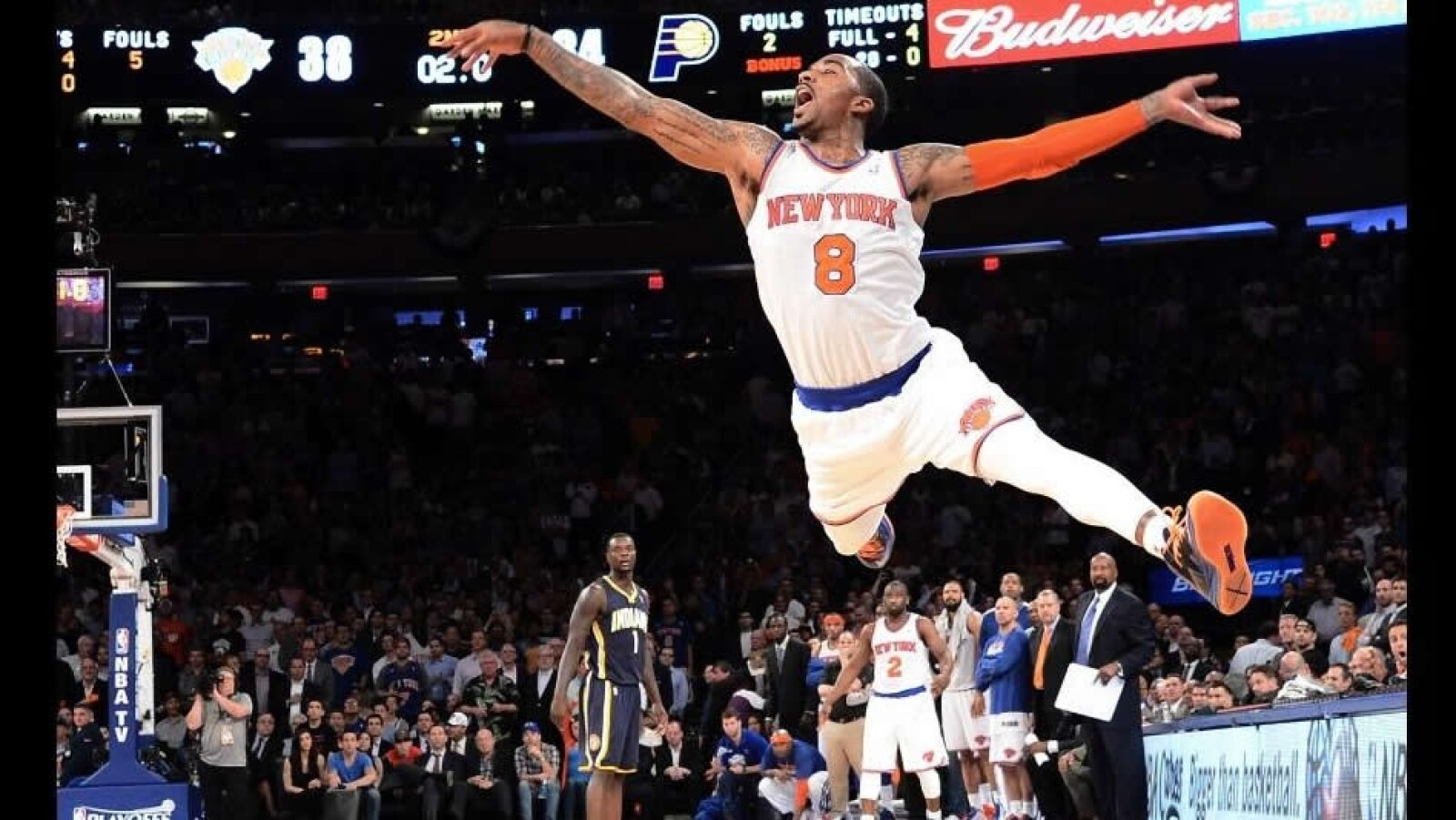 basquetbol nueva york knicks J.R. Smith