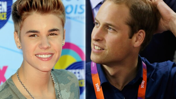 El cantante canadiense realizó polémicas declaraciones sobre el problema de alopecia que padece el Duque de Cambridge.