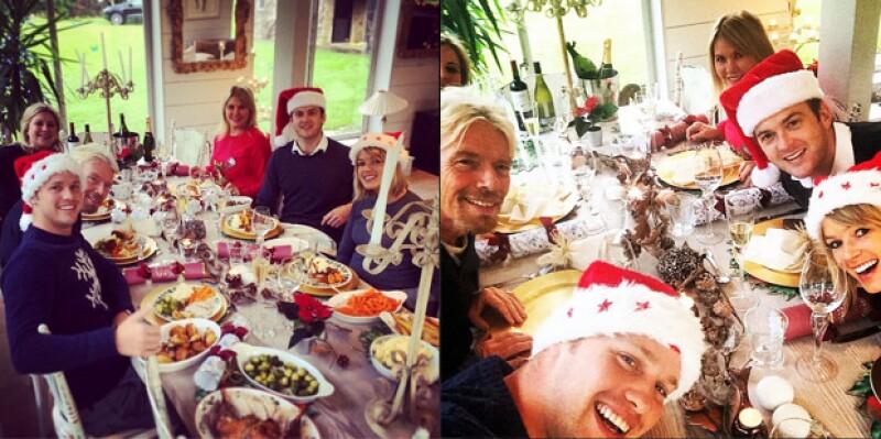 El empresario y dueño de Virgin comparte cómo pasa la Navidad en familia en casa de sus hijos, aunque siempre lo hace en su isla privada.