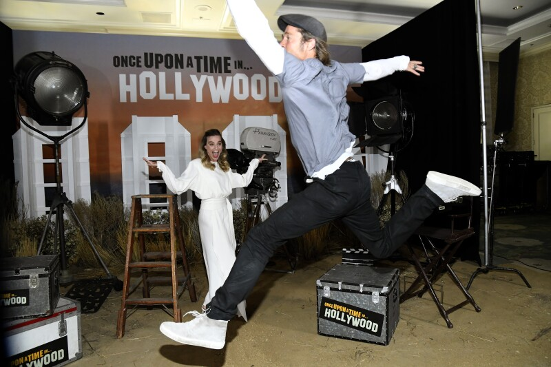 Margot Robbie y Brad Pitt