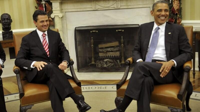Pena Nieto Obama Casa Blanca