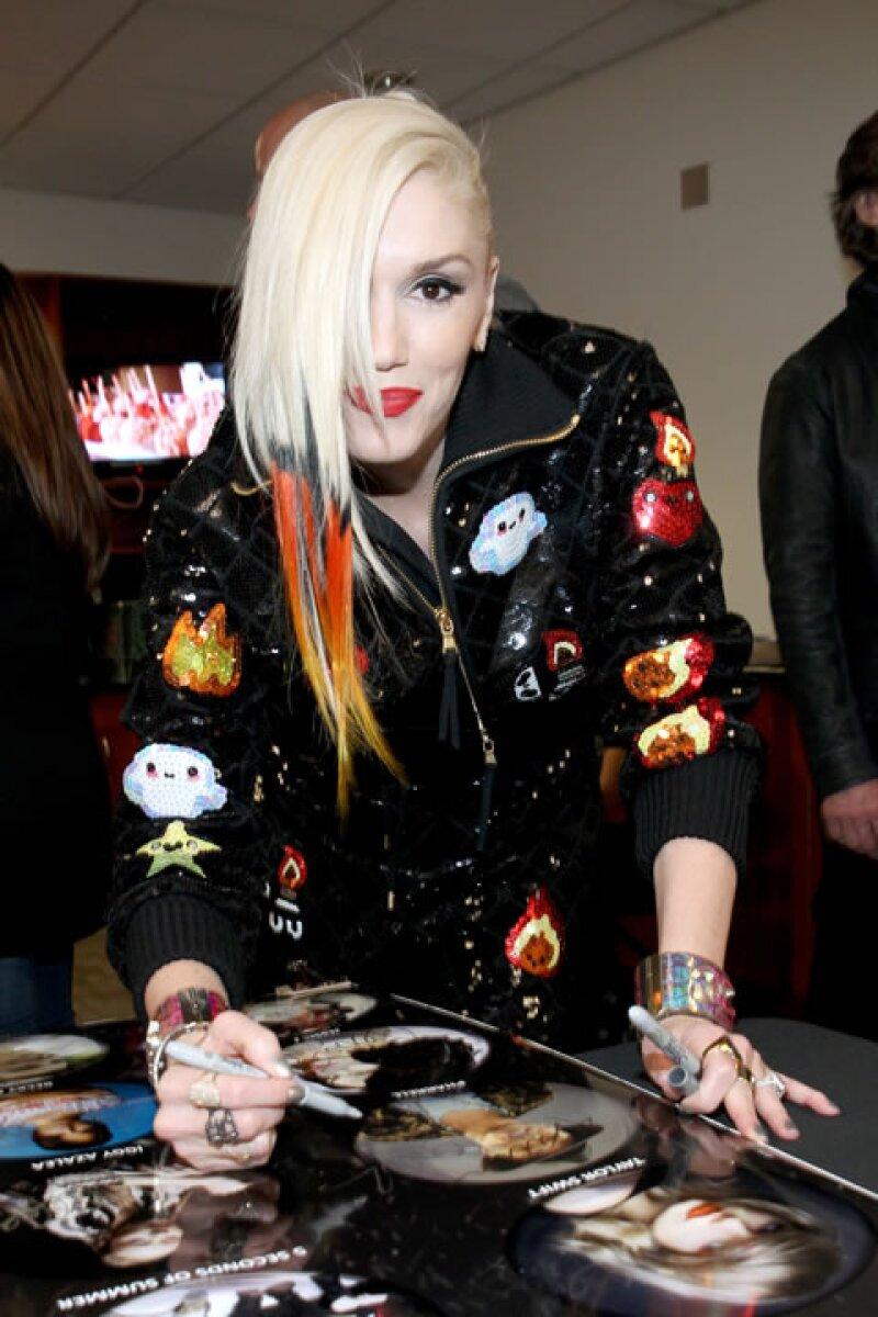 Gwen Stefani.