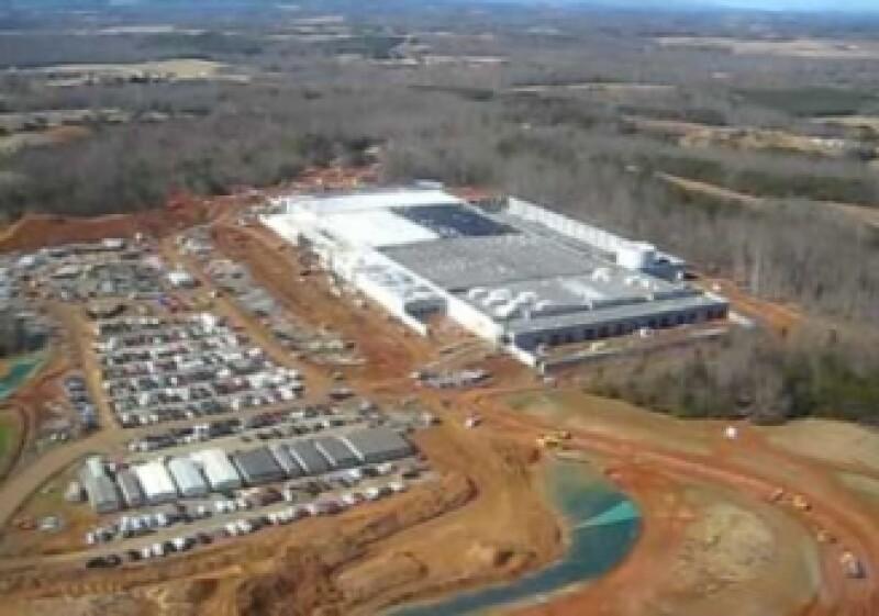 La instalación de Apple de más de 4 hectáreas no aparece en Google Earth. (Foto: Fortune)