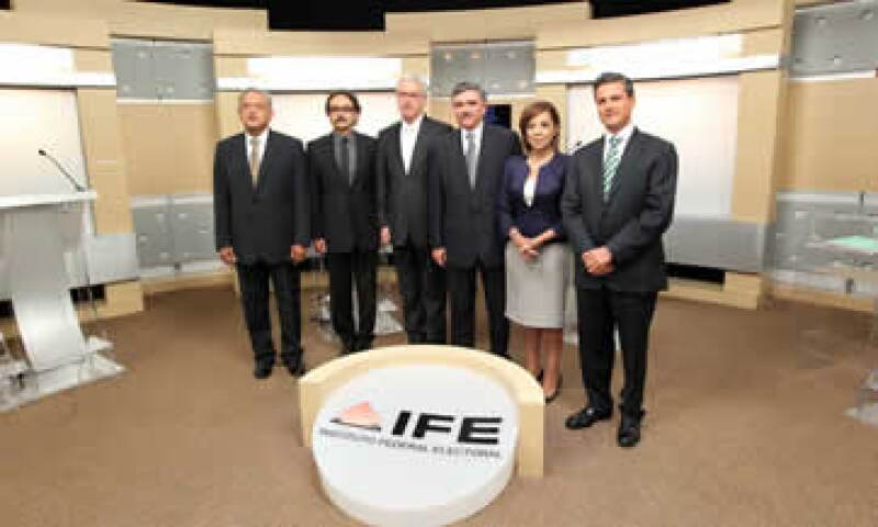 Los aspirantes presidenciales debatieron el pasado 10 de junio. (Foto: Notimex)