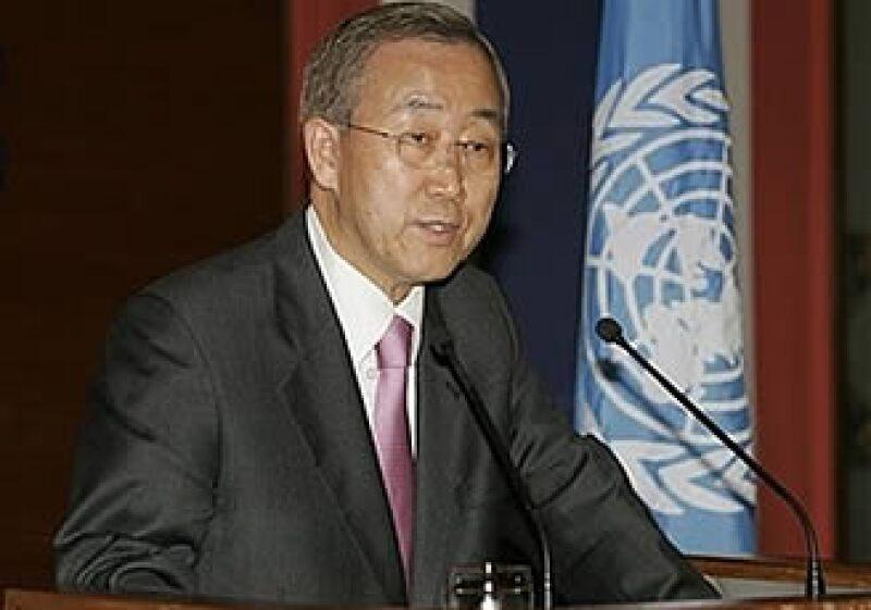 El Secretario General de la ONU, Ban Ki-moon considera que el comercio es una herramienta para estimular la recuperación. (Foto: AP)