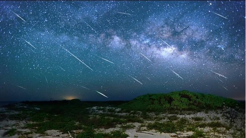 eta acuaridas meteoros lluvia de estrellas
