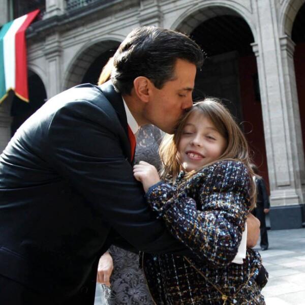 Enrique Peña Nieto y Regina Castro Rivera.