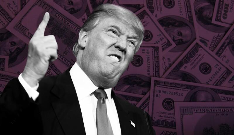 El efecto Donald Trump 'amenaza' con llevar al dólar a los 20 pesos
