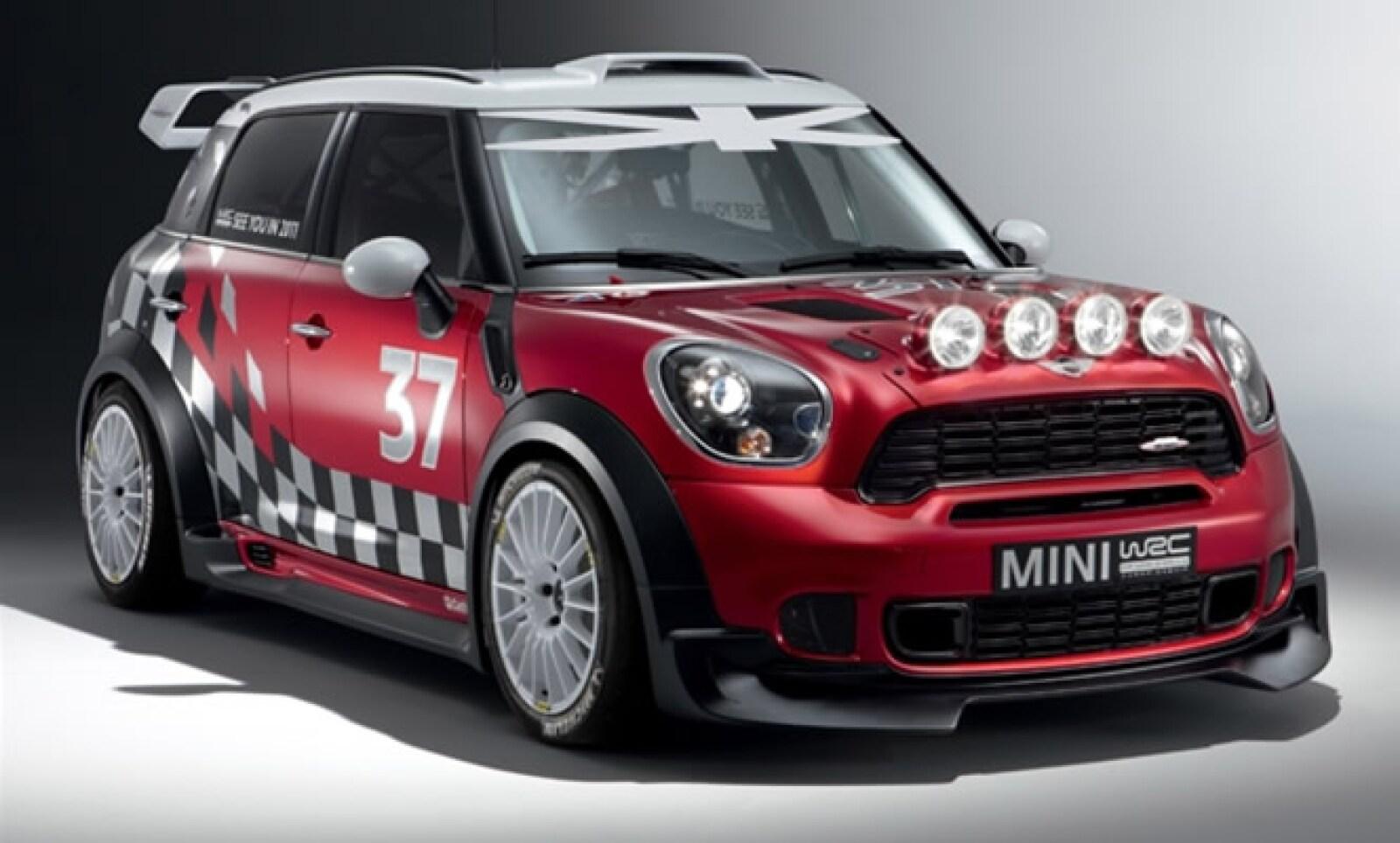 La marca de origen británico presentó el vehículo con el que participará desde el año que viene en el Campeonato Mundial De Rally.