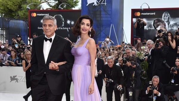 George y Amal Clooney Venecia