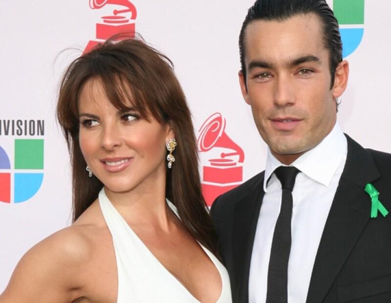 Kate del Castillo y Aarón Díaz tuvieron un divorcio relativamente tranquilo.