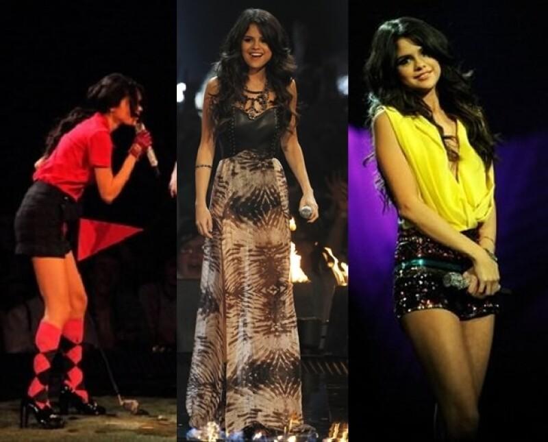 La cantante y actriz siempre lució sexy.
