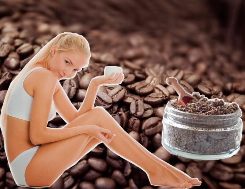 El café ayuda a absorber y eliminar el exceso de líquidos en la piel, ayudando a eliminar la celulitis.