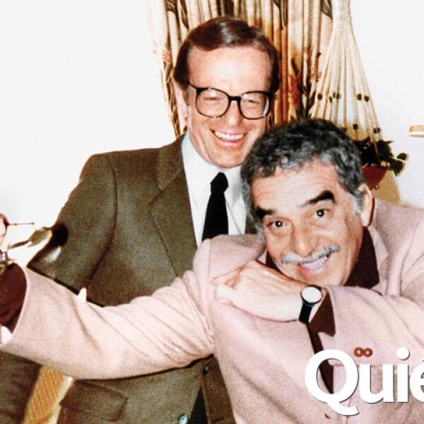 Gabriel García Márquez y Jacobo Zabludovsky