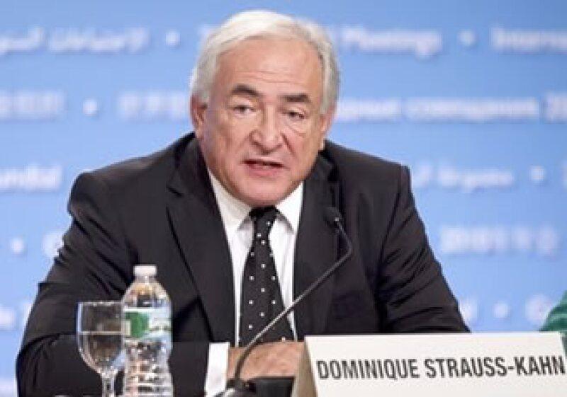 Dominique Strauss Kahn, líder del FMI, dijo que la recuperación es más incierta en Europa y Estados Unidos. (Foto: AP)