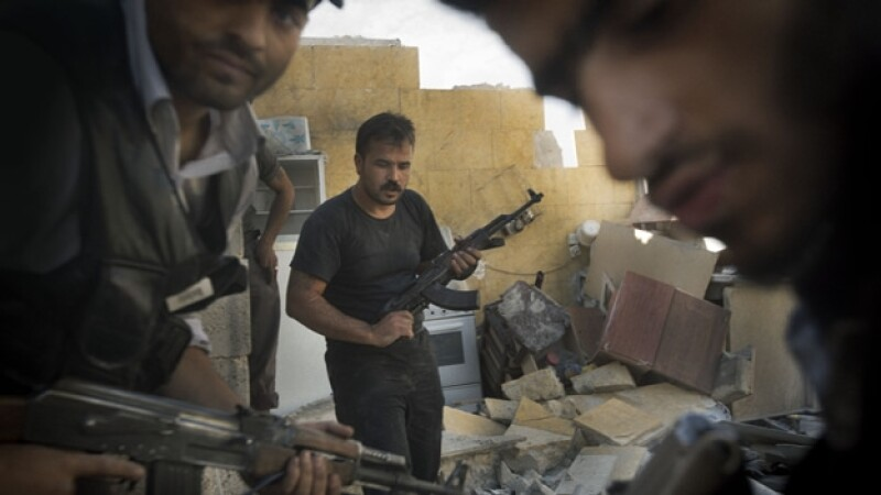 rebeldes sirios en aleppo