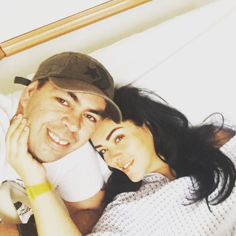 La hermana de Anahí, Marichelo, no pudo asistir a la gran presentación de Ani debido a que fue operada para quitarle la matriz.