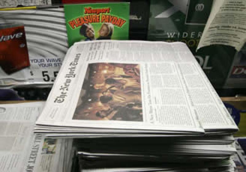 Carlos Slim es uno de los inversionistas del diario The New York Times. (Foto: Archivo AP)