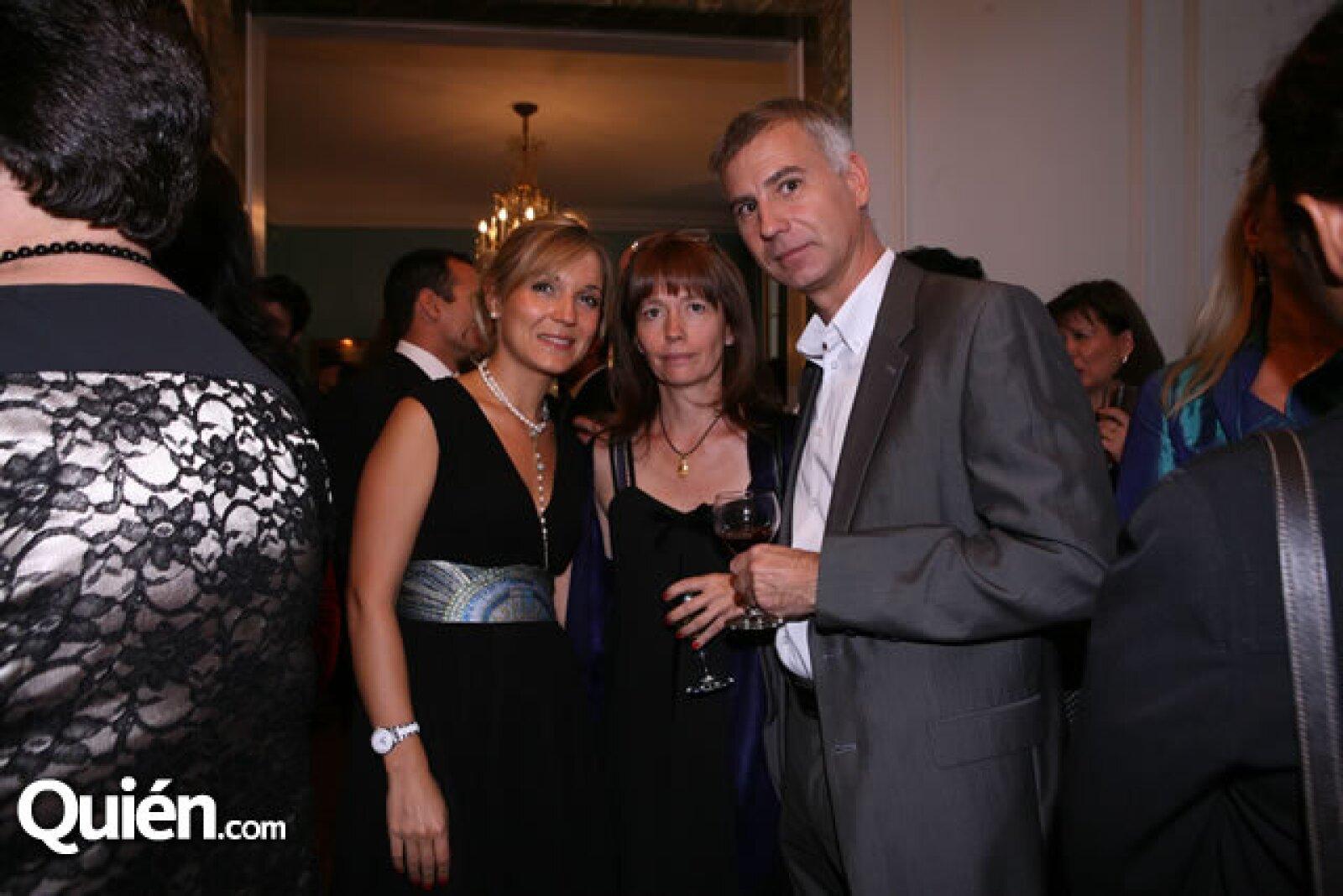 Mailys Parfait,Philippe y Sylvia Guerret