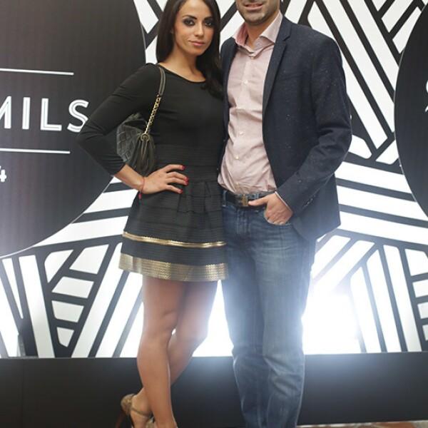 Alejandra Herrera y Thomas Combe