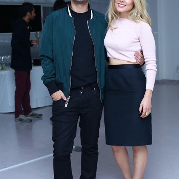 Fernando Marroquín y Mariana Estrada