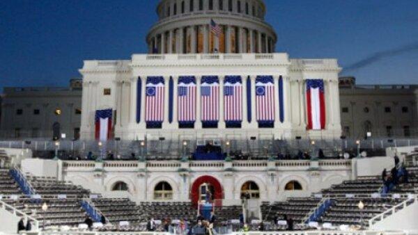 El costo total de la celebración de la toma de posesión del presidente número 44 de los Estados Unidos rondará  los 150 millones de dólares (mdd).