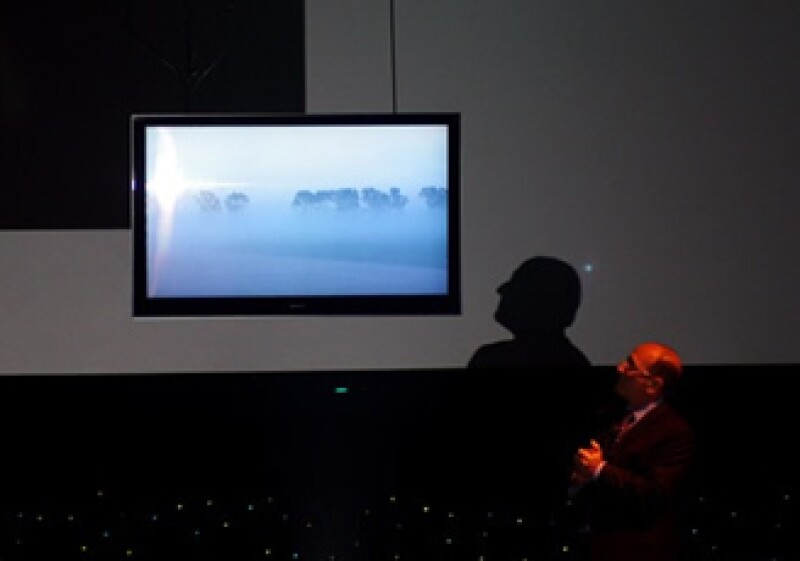 La pantalla LCD Bravia NX800 de Sony. (Foto: Jon Fortt)