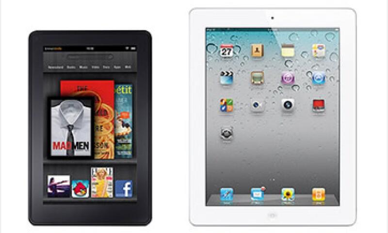 Se rumora que Apple anunciará en octubre una iPad Mini por casi el mismo precio que el Kindle Fire.  (Foto: Cortesía CNNMoney)