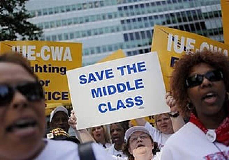 Durante la audiencia se dieron protestas por parte del sindicato de GM. (Foto: AP)