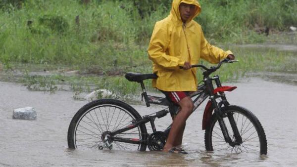 Lluvias en Campeche
