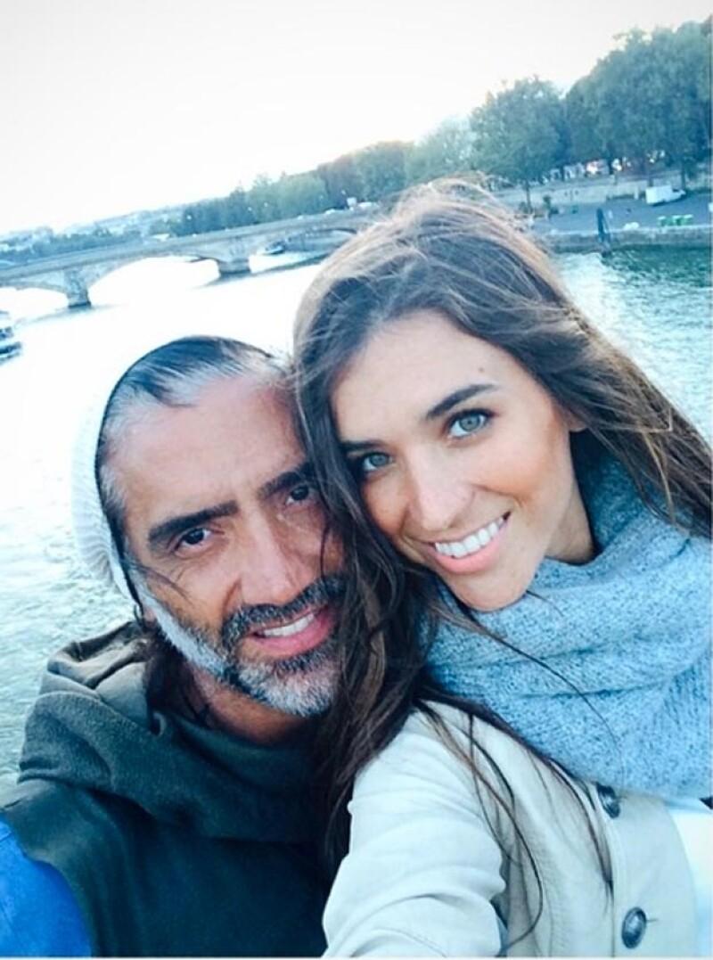 Karla y Alejandro compartieron imágenes de su viaje por el mundo.