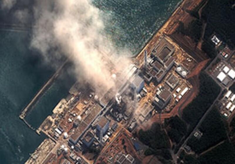 Vista aérea de la planta de energía nuclear de Fukushima.  (Foto: Fortune)