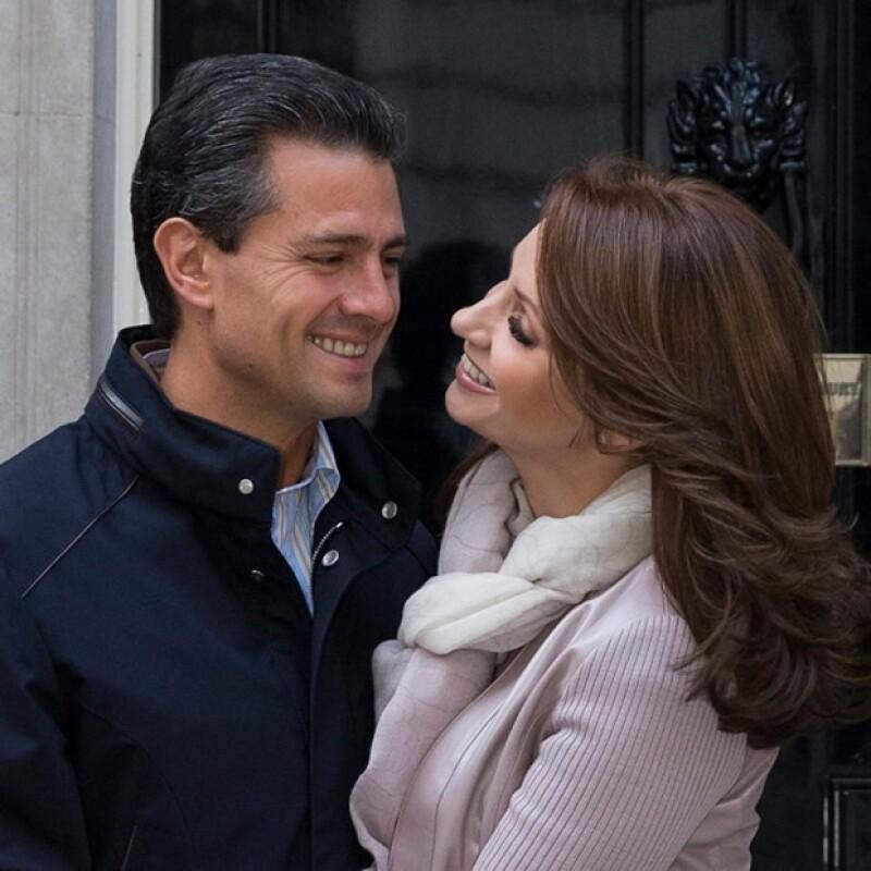 Esta es la foto que Peña Nieto compartió en Facebook.
