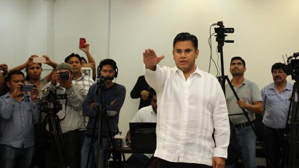 Willy Ochoa gobernador provisional de Chiapas