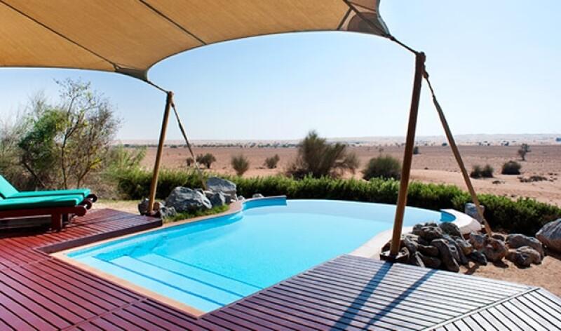 La ubicación del Al Maha es privilegiada.