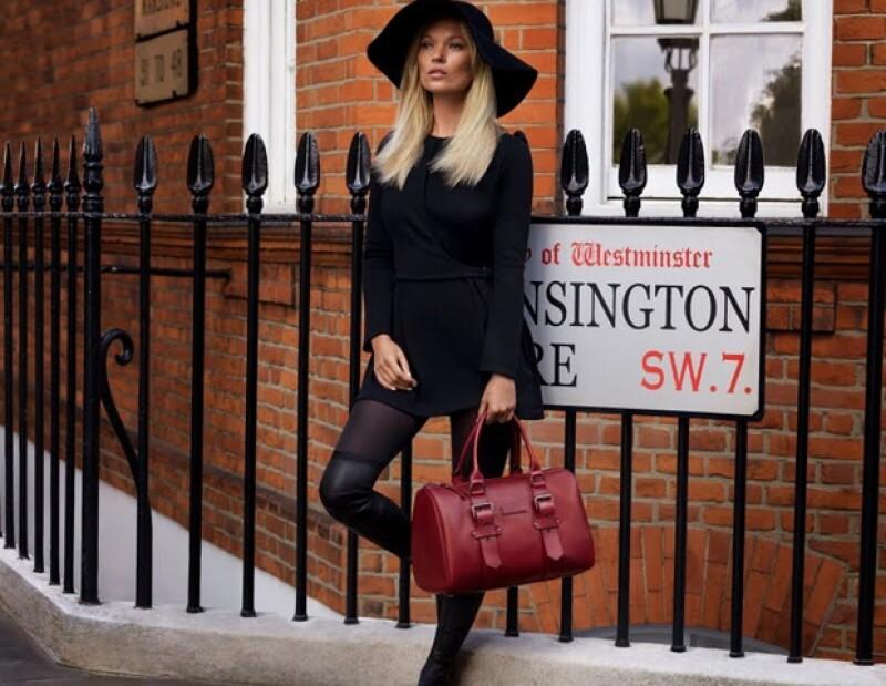 Bolsa diseñada por Kate Moss para Longchamp.