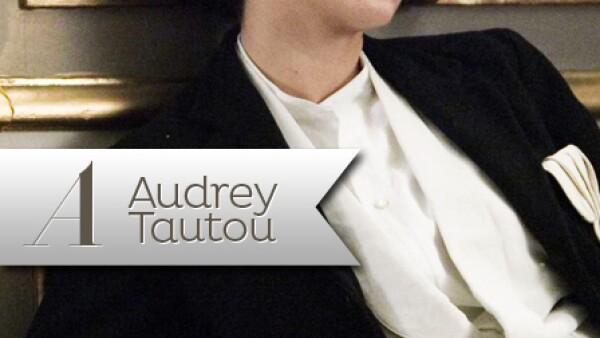 Audrey Tautou, famosa por la película `Amelie´, interpretó a Coco Chanel en `Coco antes de Chanel´ en 2009.
