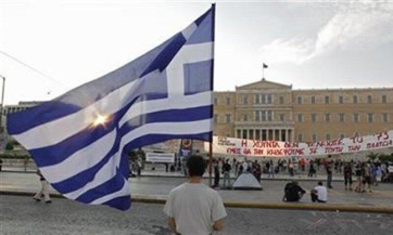 El BCE continúa con una fuerte oposición al cese de pagos de Grecia. (Foto: AP)