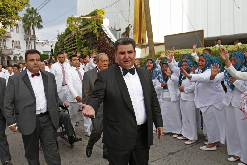 El nuevo líder internacional de la Iglesia la Luz del Mundo, Naasón Joaquín García