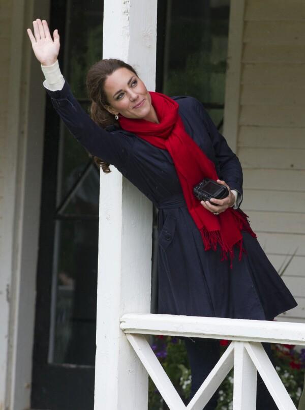Kate Middleton con cámara en 2011