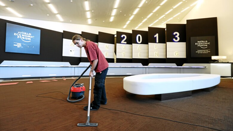 La reunión de 2013 congregará a más de 1,500 líderes empresariales y hasta a 50 jefes de Estado o de Gobierno, muchos de ellos de países agobiados por la crisis.