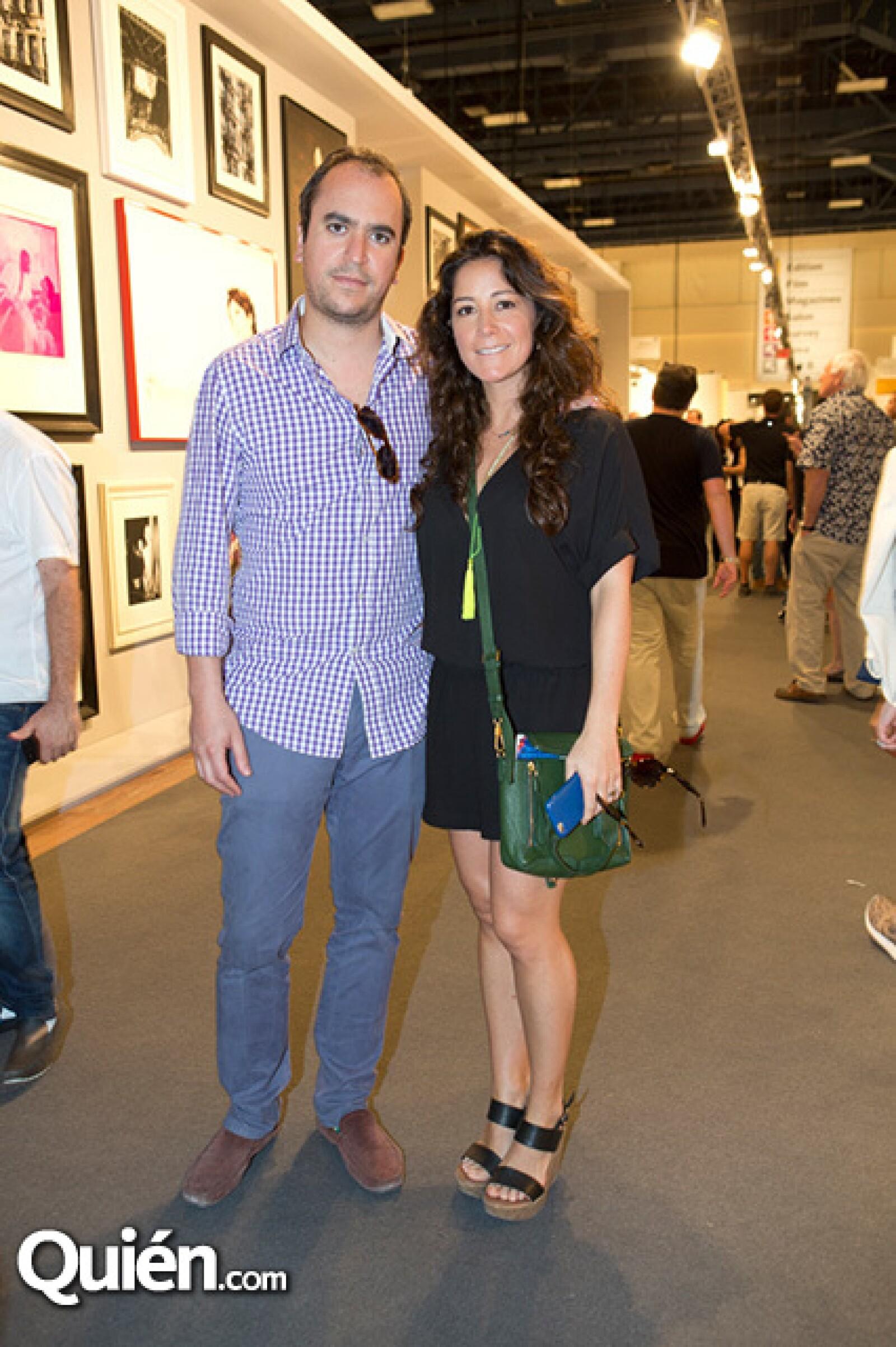 Rodrigo Borras y Andrea Walther