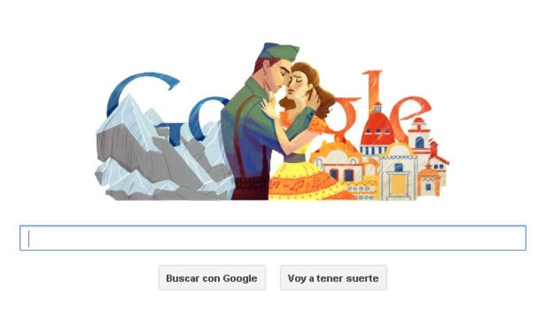 Consuelo Velázquez besame mucho google doodle