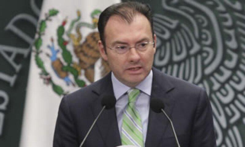 Luis Videgaray dijo que el Gobierno tiene que trabajar todos los días para ser más austero. (Foto: Cuartoscuro)