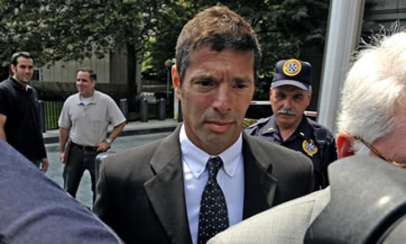 David Friehling, el padre del suicida, se declaró culpable de fraude bursátil en 2009 (Foto: AP)